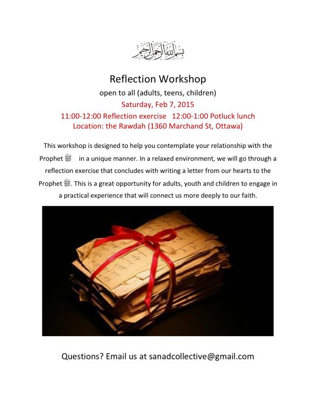 Reflection Workshop